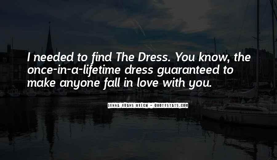 Once You Fall In Love Quotes #1350166