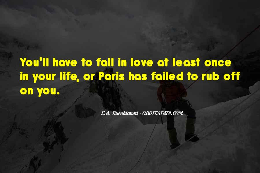 Once You Fall In Love Quotes #188315