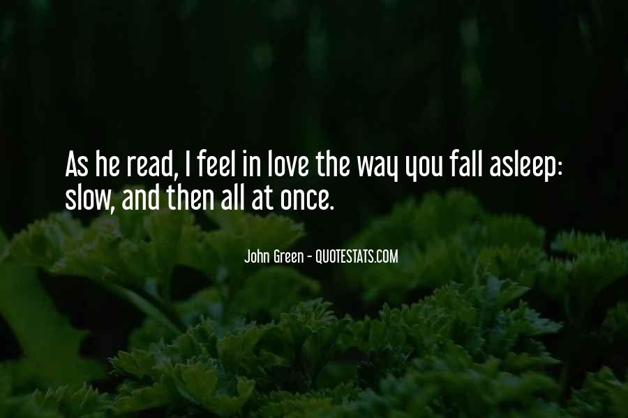 Once You Fall In Love Quotes #327954
