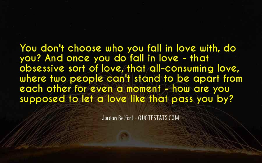 Once You Fall In Love Quotes #353299