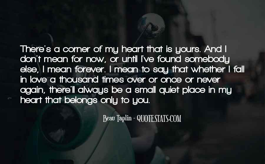 Once You Fall In Love Quotes #642590