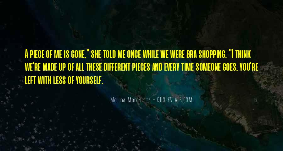 Once You Left Quotes #1198631