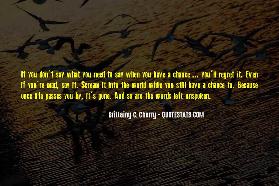 Once You Left Quotes #1211701