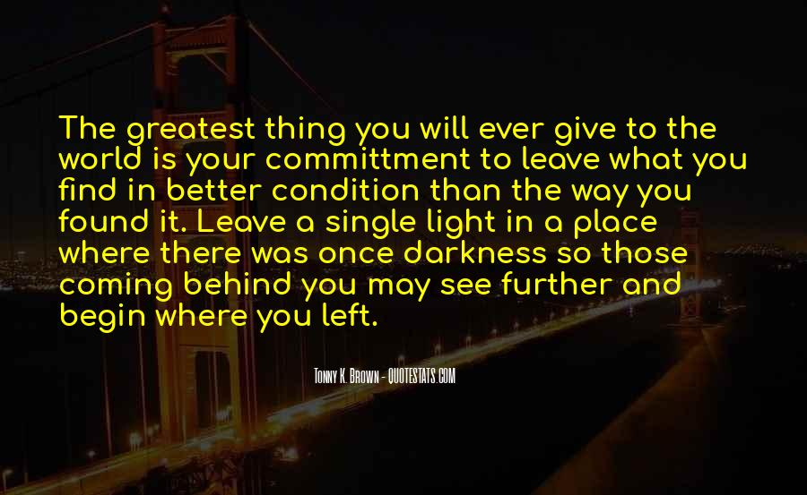 Once You Left Quotes #1304475