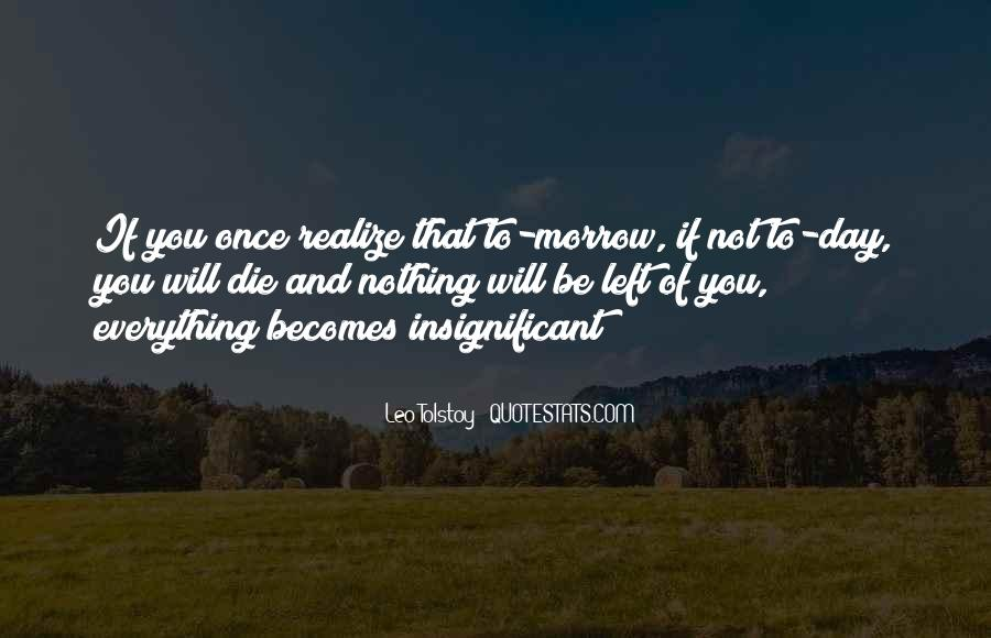 Once You Left Quotes #139318