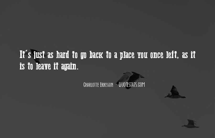 Once You Left Quotes #1628026