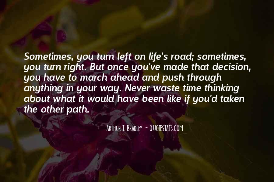 Once You Left Quotes #1661218