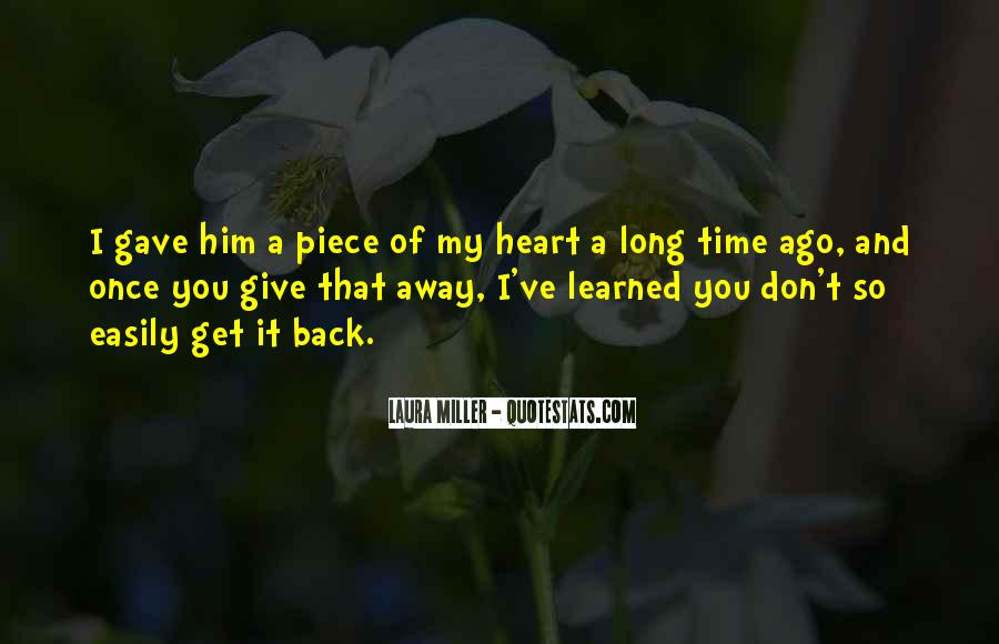 Once You Left Quotes #286909