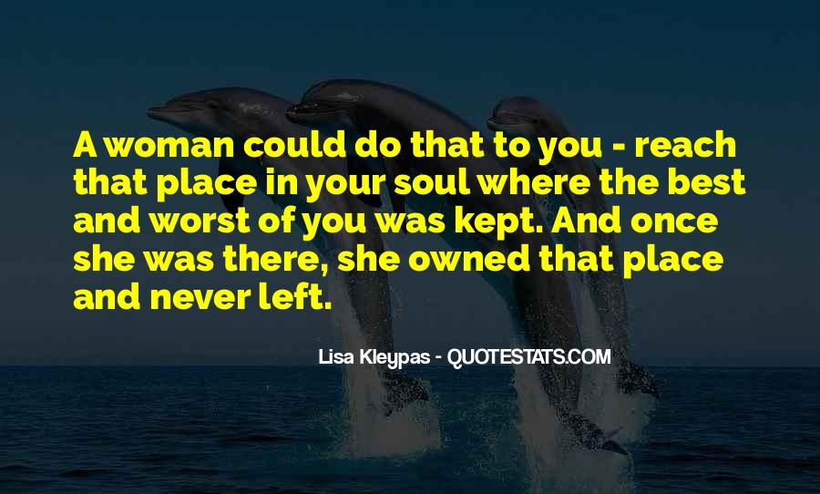 Once You Left Quotes #94071