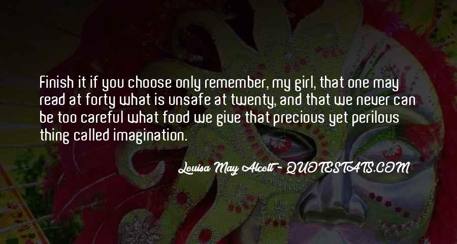 One And Only Girl Quotes #1186242