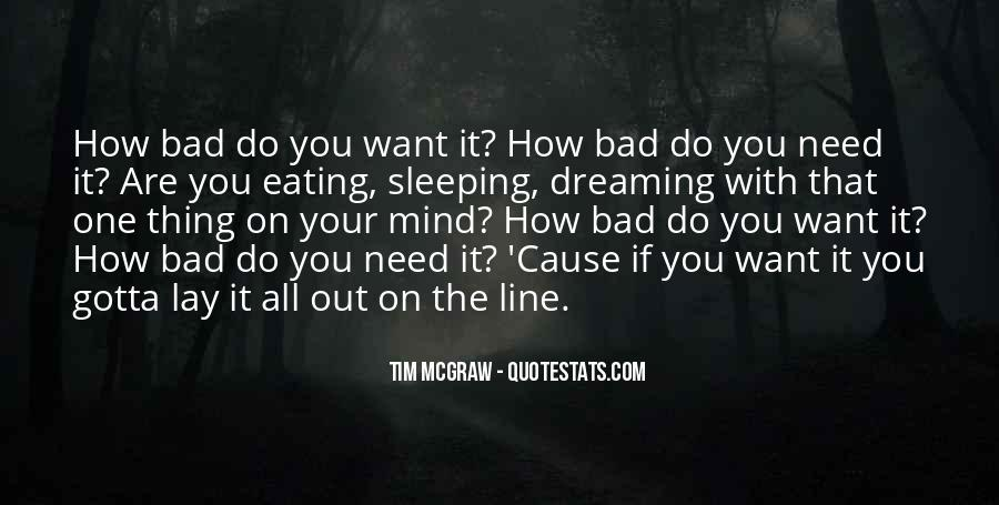 One Bad Thing Quotes #252702