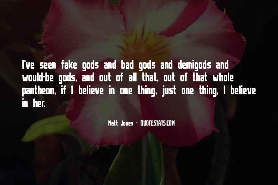 One Bad Thing Quotes #492504