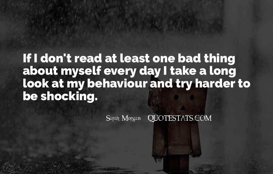 One Bad Thing Quotes #528156