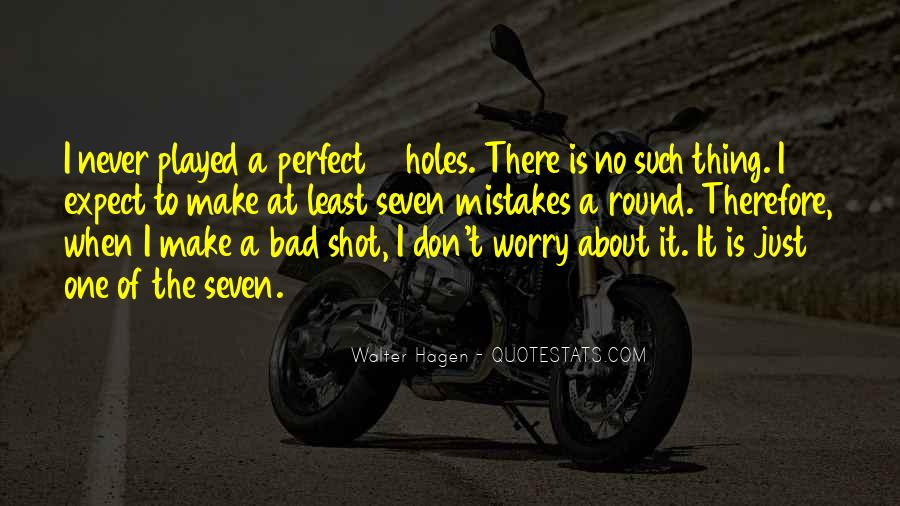 One Bad Thing Quotes #538025