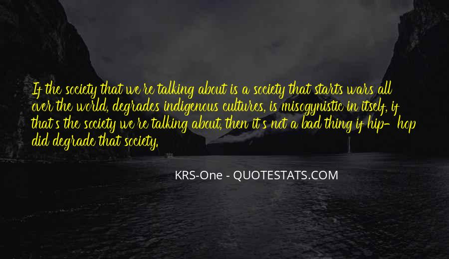 One Bad Thing Quotes #591535
