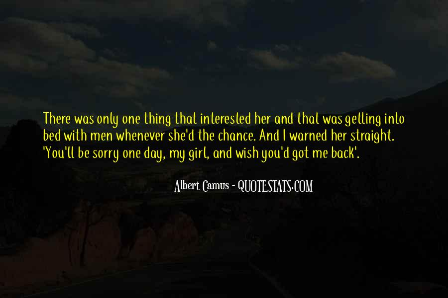 One Chance Only Quotes #45673