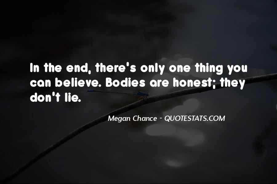 One Chance Only Quotes #803440
