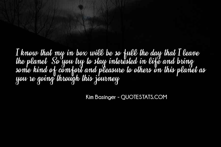 One Day I Will Leave Quotes #76688