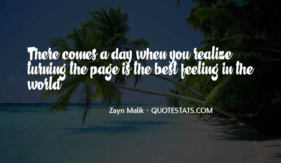 One Day You Realize Quotes #1518350