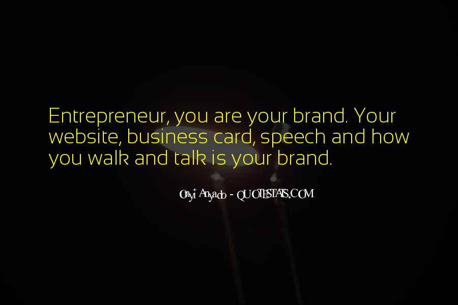 Quotes About Branding In Business #1197475