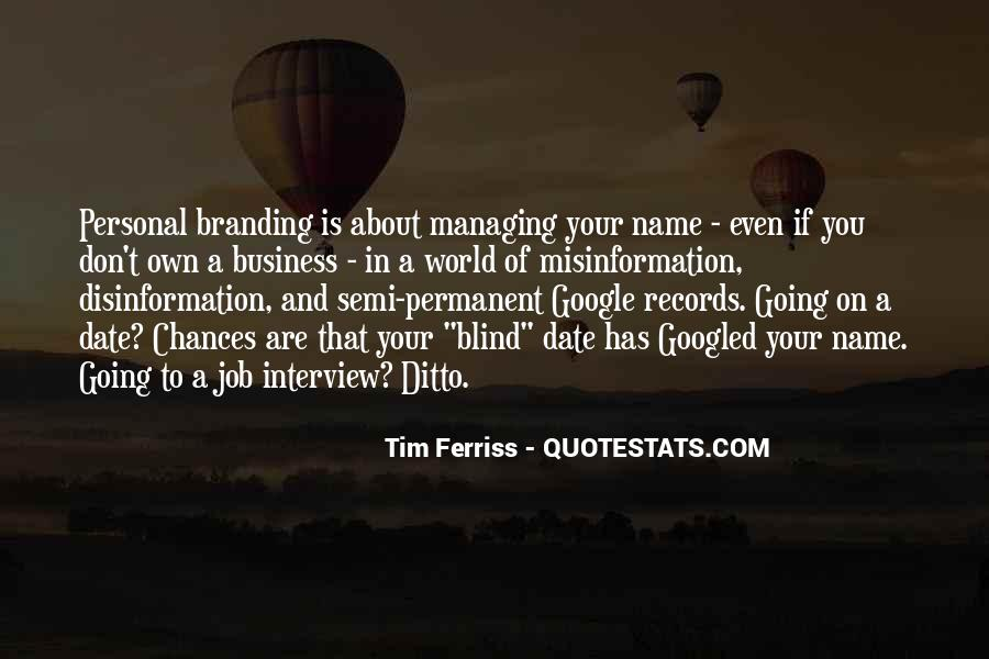Quotes About Branding In Business #592440