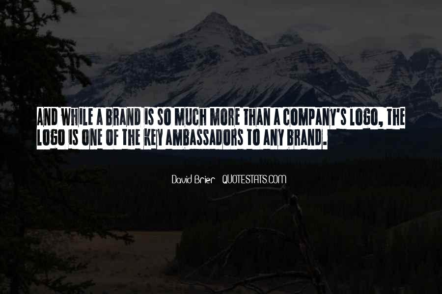 Quotes About Branding In Business #680692