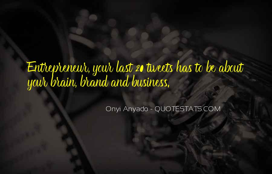 Quotes About Branding In Business #956457