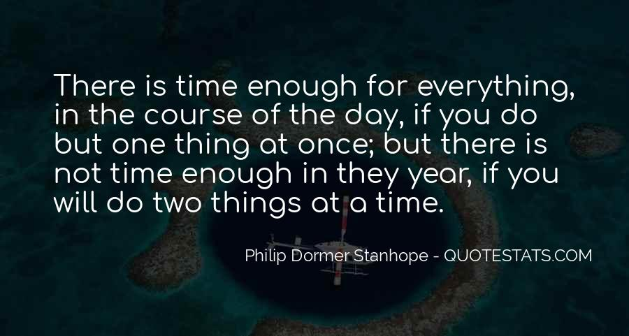 One Is Enough Quotes #11912