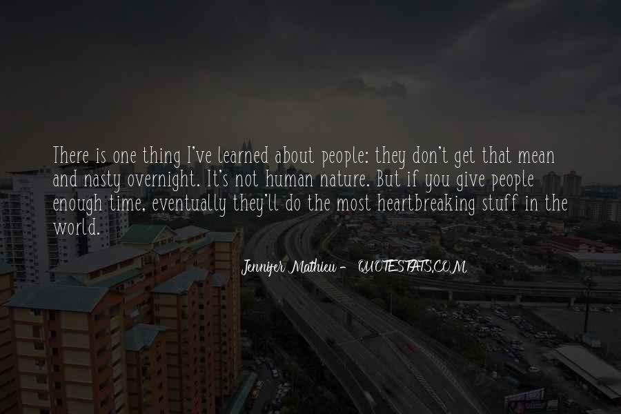 One Is Enough Quotes #121772