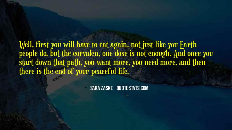 One Is Enough Quotes #124139