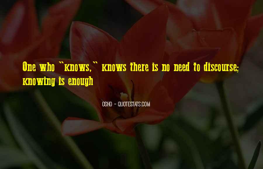 One Is Enough Quotes #23895