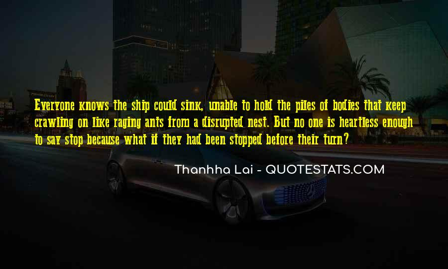 One Is Enough Quotes #55611