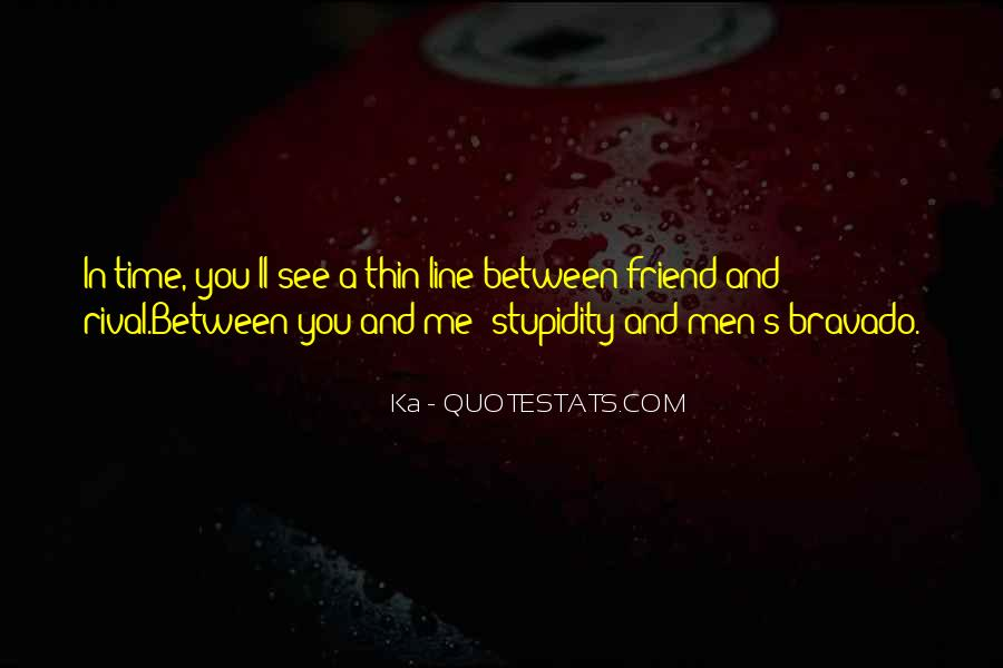 One Line Best Friend Quotes #1595200