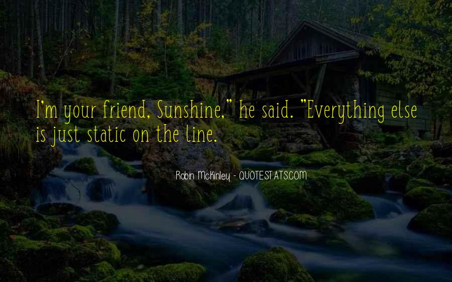 One Line Best Friend Quotes #716318