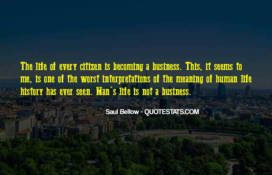 One Man Business Quotes #107807
