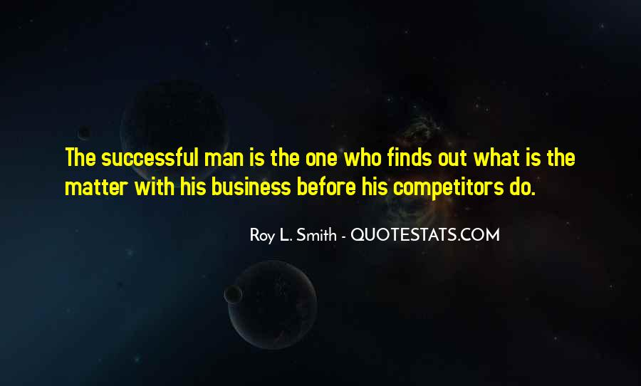 One Man Business Quotes #1440165