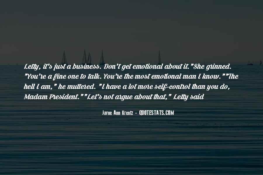 One Man Business Quotes #1595682