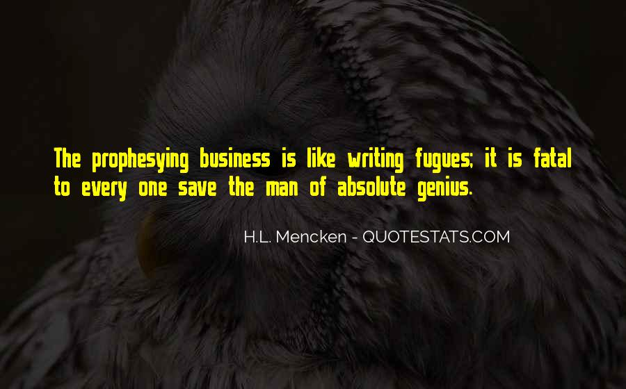 One Man Business Quotes #1622091