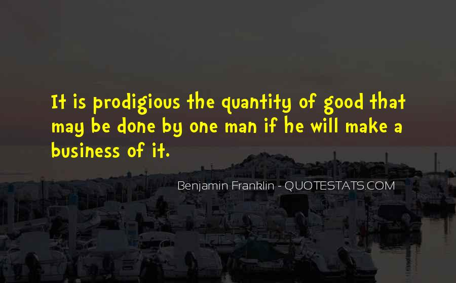 One Man Business Quotes #276409