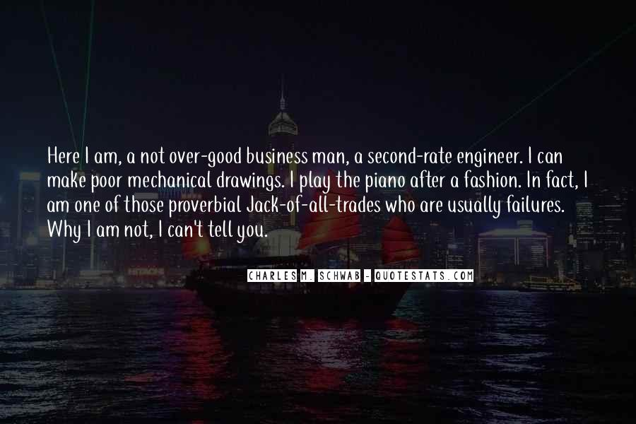 One Man Business Quotes #492590