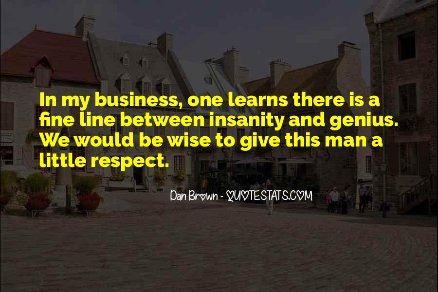 One Man Business Quotes #53749