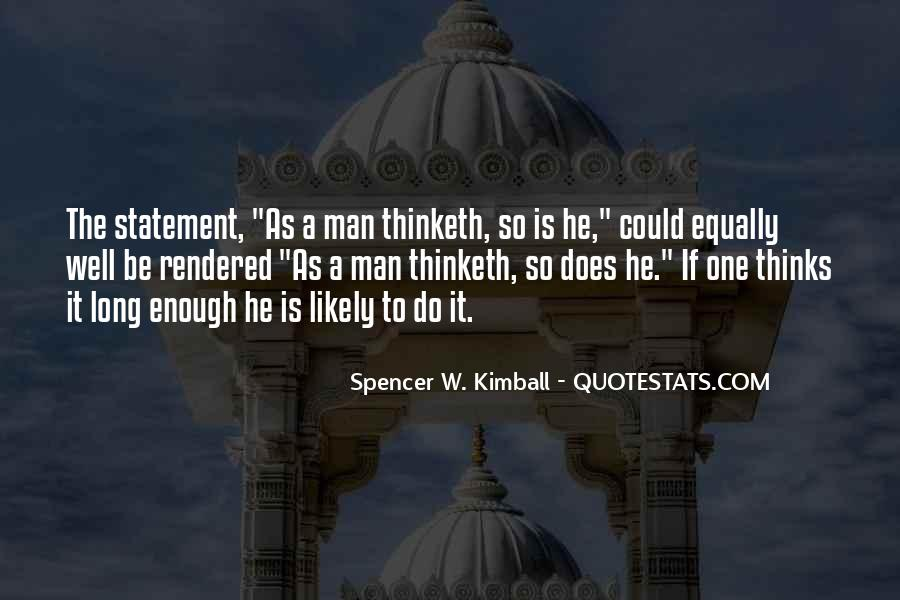 One Man Is Enough Quotes #431779