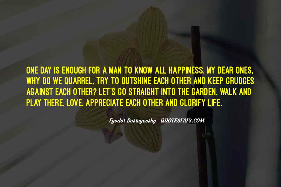 One Man Is Enough Quotes #561256