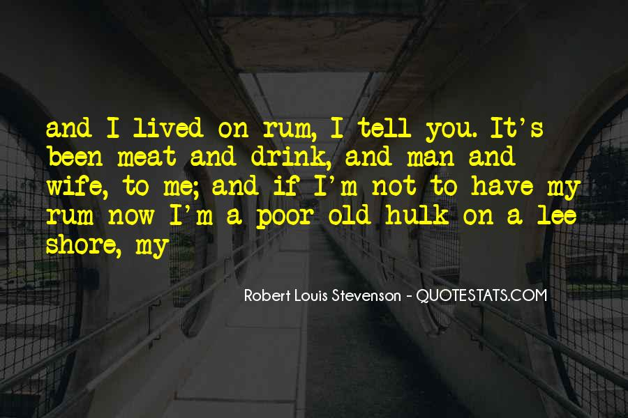 One Man's Meat Quotes #337377