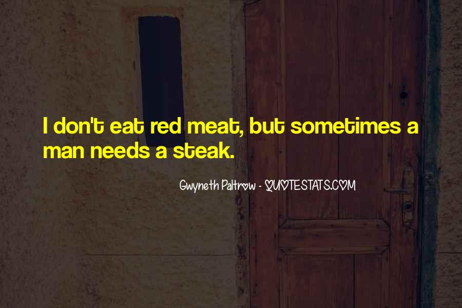One Man's Meat Quotes #647789