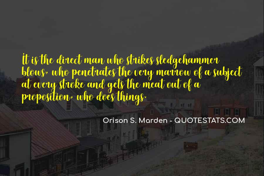 One Man's Meat Quotes #812261
