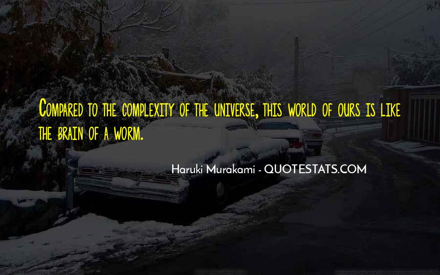 Quotes About Brain Complexity #143223
