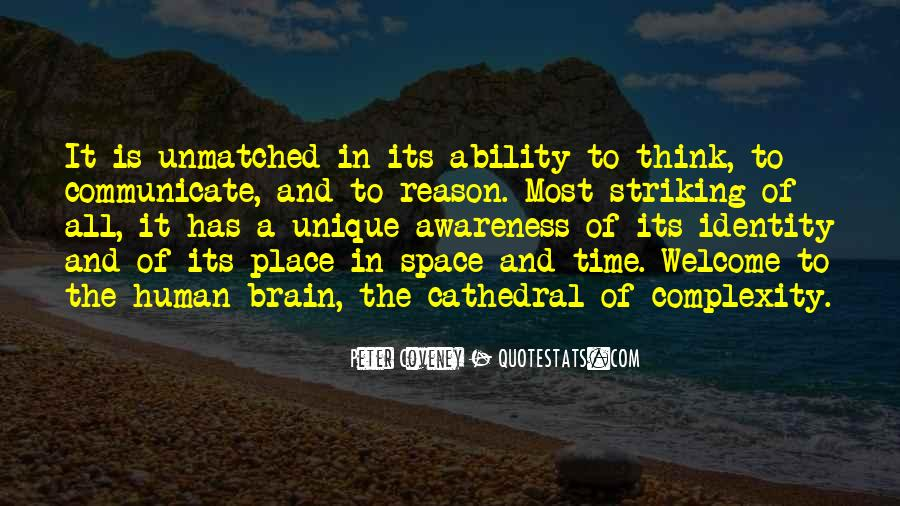 Quotes About Brain Complexity #933009