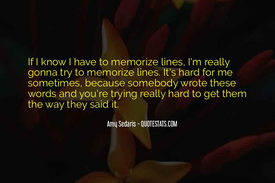 One More Try Lines And Quotes #587039
