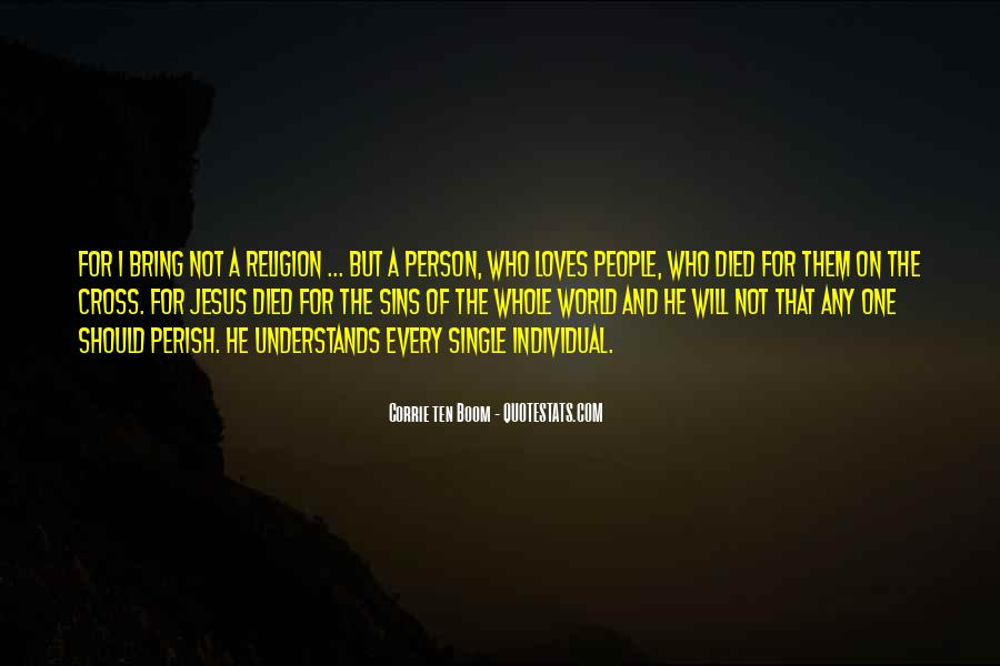 One Of Jesus Quotes #153071
